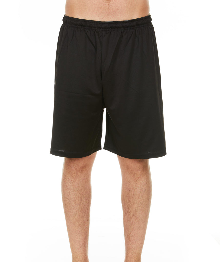 Daily Steals-Men's Mystery Solid Active Athletic Performance Shorts - 4 Pack-Men's Apparel-