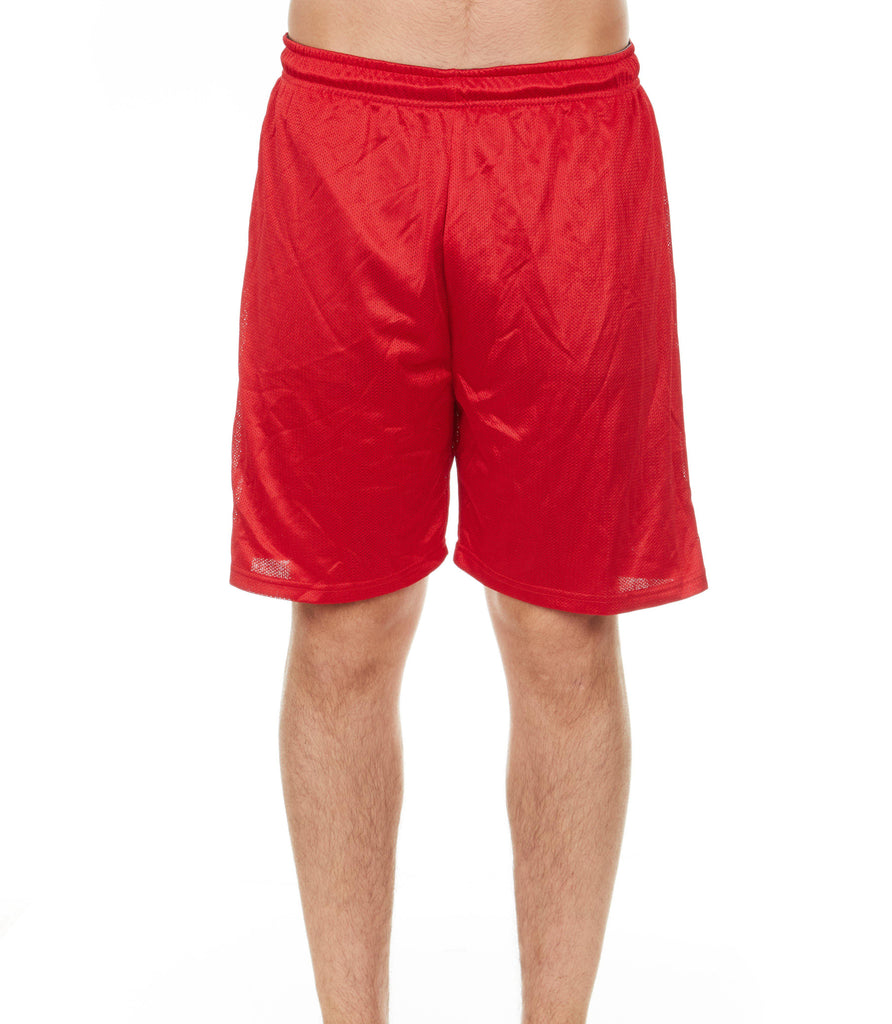 Men's Mystery Solid Active Athletic Performance Shorts - 4 Pack-Daily Steals