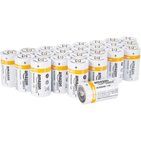 Daily Steals-AmazonBasics D Cell 1.5 Volt Everyday Alkaline Battery - 24 Pack-Batteries-