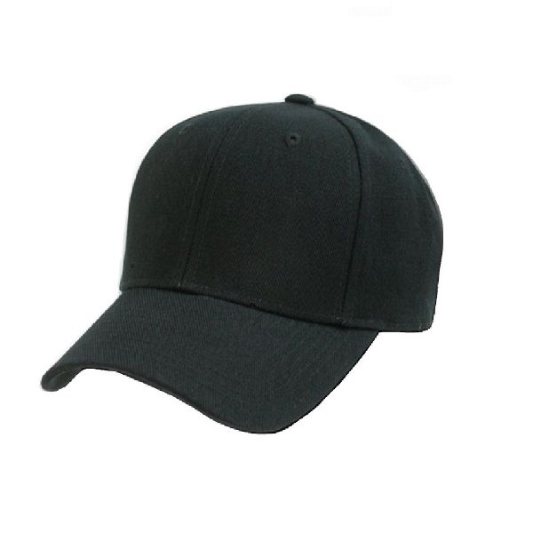Solid Unisex Baseball Caps - Adjustable Plain Hat - 4 Pack-Black-Daily Steals
