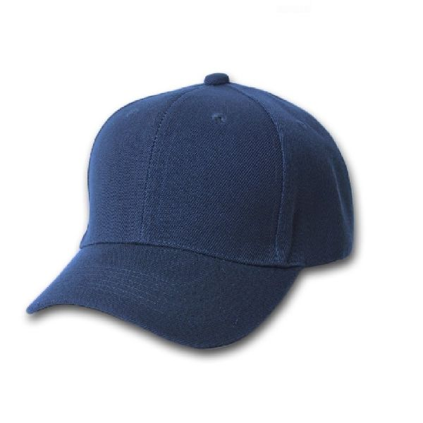 Solid Unisex Baseball Caps - Adjustable Plain Hat - 4 Pack-Blue-Daily Steals