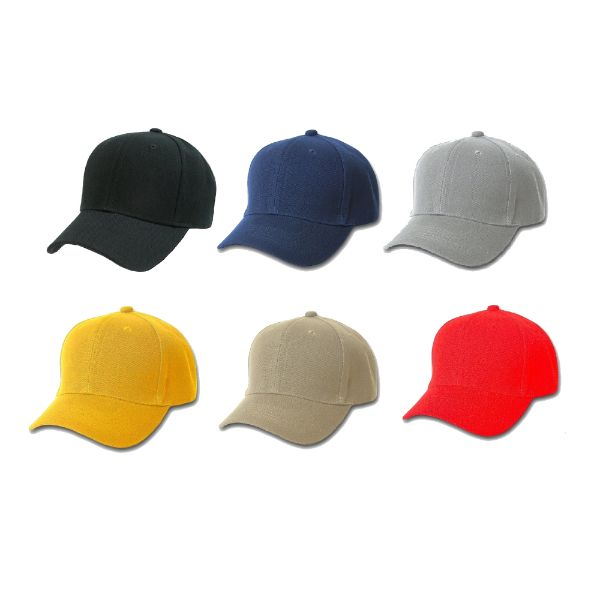 Solid Unisex Baseball Caps - Adjustable Plain Hat - 4 Pack-Mix-Daily Steals