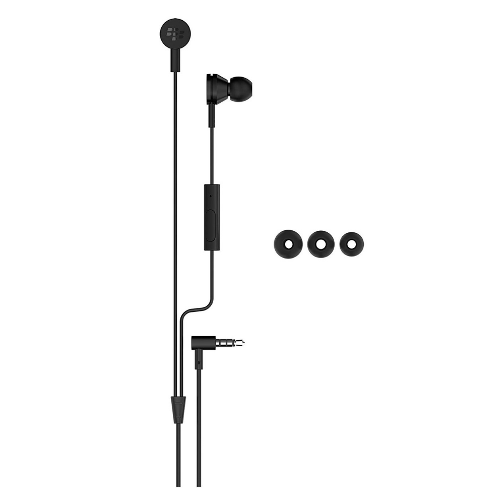 Daily Steals-[2-Pack] BlackBerry Premium Stereo Headset - Black-Headphones-