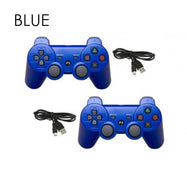 Bluetooth Controllers for Sony PlayStation 3 Wireless - 2 Pack-Blue-Daily Steals
