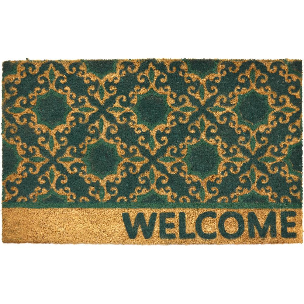 "18"" x 28"" Outdoor Printed Coir Mat-BC_HDX_5601-13_A-Daily Steals"