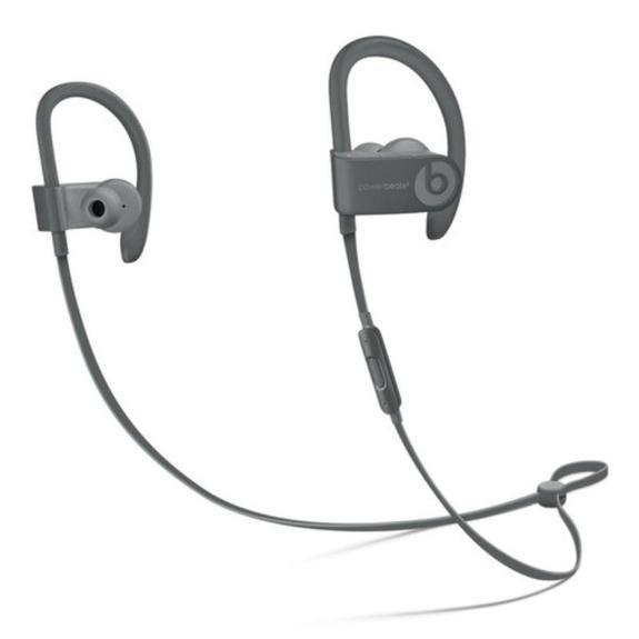 Beats af Dr. Dre Neighborhood Collection Powerbeats3 Wireless Earphones-Asphalt Grey-