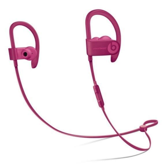 Beats af Dr. Dre Neighborhood Collection Powerbeats3 Wireless Earphones-Brick Red-