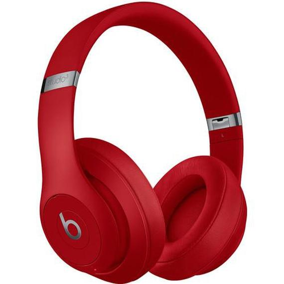 Daily Steals-Beats by Dr. Dre Studio3 Wireless Bluetooth Headphones-Headphones (refurbished)-Red-