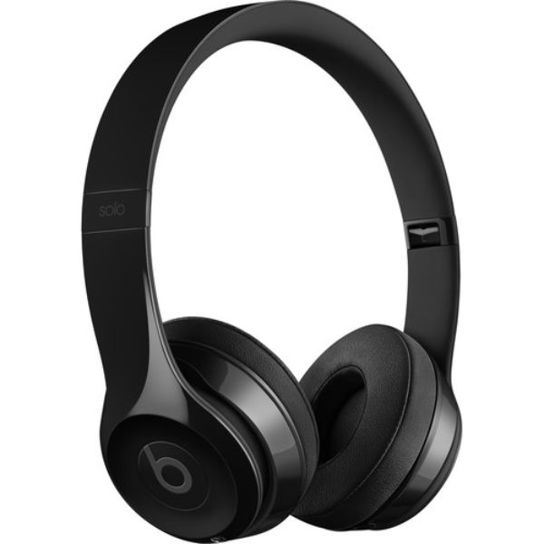 Beats by Dr Dre Solo3 Wireless On-Ear Headphones-Gloss Black-Daily Steals