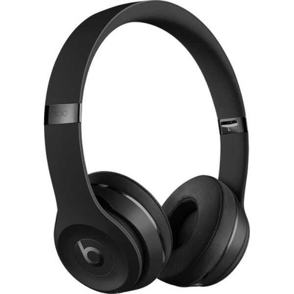 Daily Steals-Beats by Dr Dre Solo3 Wireless On-Ear Headphones-Headphones-Matte Black-