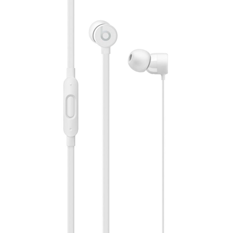 Beats urBeats3 Earphones with 3.5 mm Plug - Refurbished-White-Daily Steals