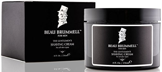 Beau Brummell Perfect Shave Bundle with Shaving Cream and Shaving Brush-Daily Steals