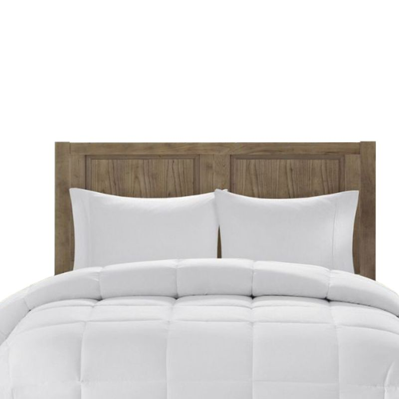 Beauty Sleep All-Season Down Alternative Comforter Hypoallergenic - White-King-Daily Steals