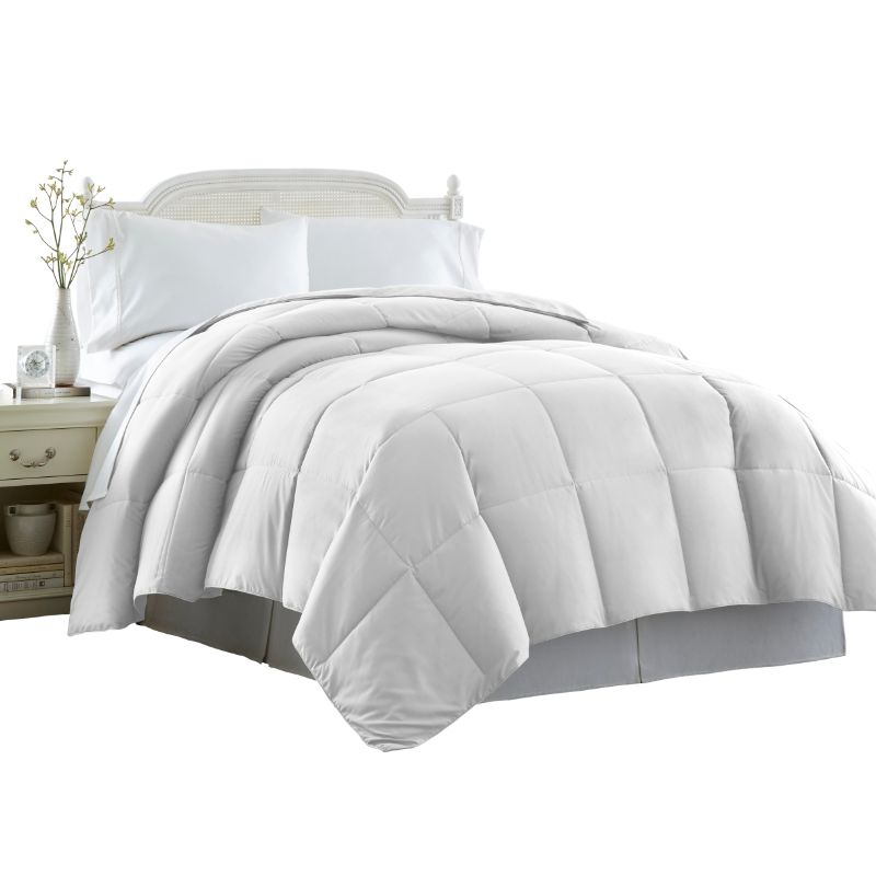 Beauty Sleep All-Season Down Alternative Comforter Hypoallergenic - White-Daily Steals
