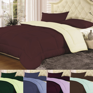 Reversible All Seasons Down-Alternative Comforter - 5 Colors