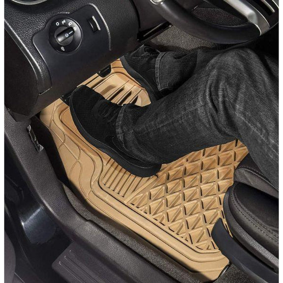 Heavy Duty Rubber Floor Mats - 4 Piece Set-Daily Steals