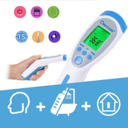 Berrcom Digital Non Contact LCD Display Infrared Thermometer-Daily Steals