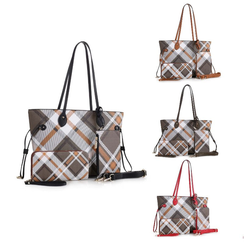 Bertine Tote Handbag with Wallet and Coin Pouch by MKF-Daily Steals