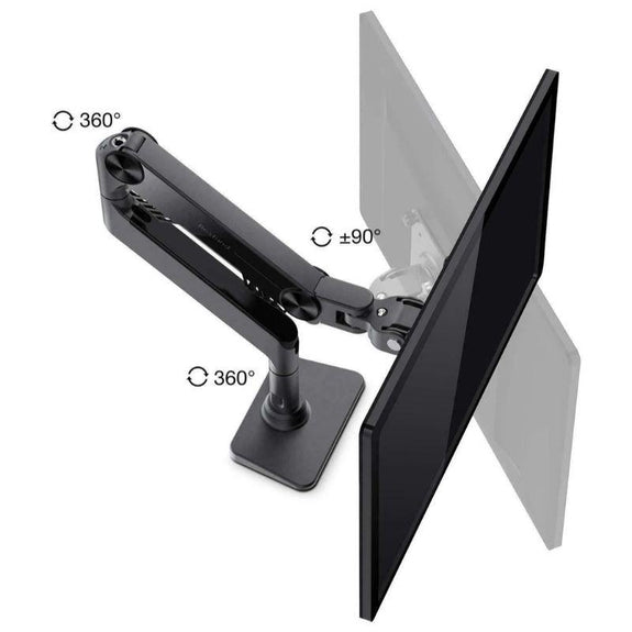 Bestand Articulating Monitor Stand Desk Mount til 17 '' - 27 '' Displays-Daily Steals