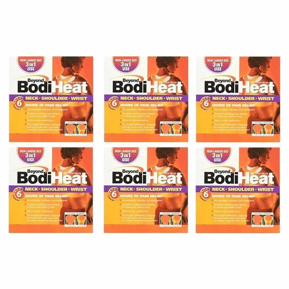 Daily Steals-Beyond BodiHeat Disposable Heating Pads - 6 Pack-Personal Care-