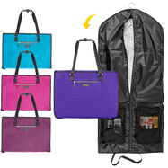Biaggi Luggage Hangeroo Two-In-One Garment Bag + Tote-Daily Steals