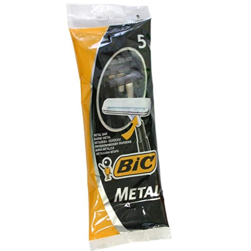 Bic Metal Men's Disposable Shaving Razors - 25 Count-Daily Steals