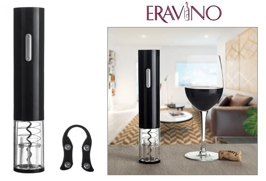 Daily Steals-EraVino Electric Wine Bottle Opener with Foil Cutter-Wine Opener-