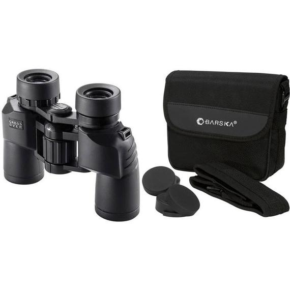 Barska 8x30 Waterproof Crossover Binocular with BAK4 Porro Prisms-Daily Steals