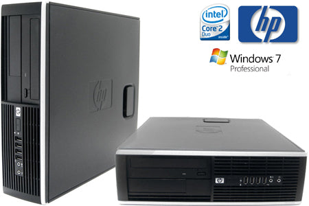 HP 8000 Elite Desktop 2.9GHz Core 2 Duo, 4GB Memory, 160GB HD, Win 7-Daily Steals
