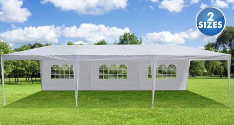 Daily Steals-Oxgord Outdoor Party Tent Gazebo with Removable Side Walls - 2 Sizes-Outdoors and Tactical-10x20-