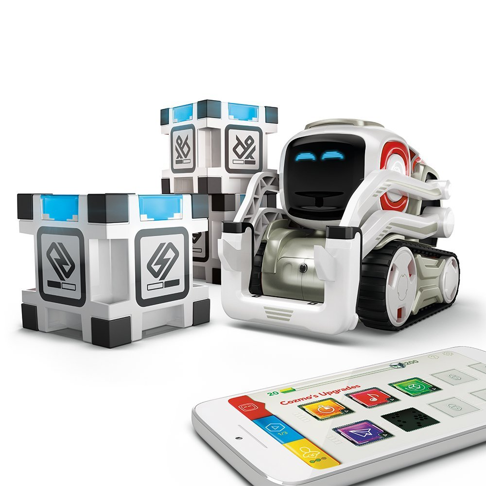 Cozmo by Anki Interactive Intelligent Robot with 3 Power Cubes-Daily Steals