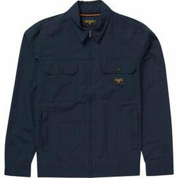 Daily Steals-Billabong Men's Hudson Button Front Denim Jacket-Men's Apparel-Blue-S-