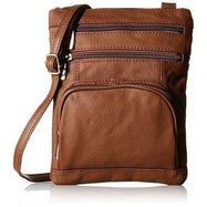 Plus Size Crossbody Bag with RFID Blocking Option-Dark Brown-Daily Steals