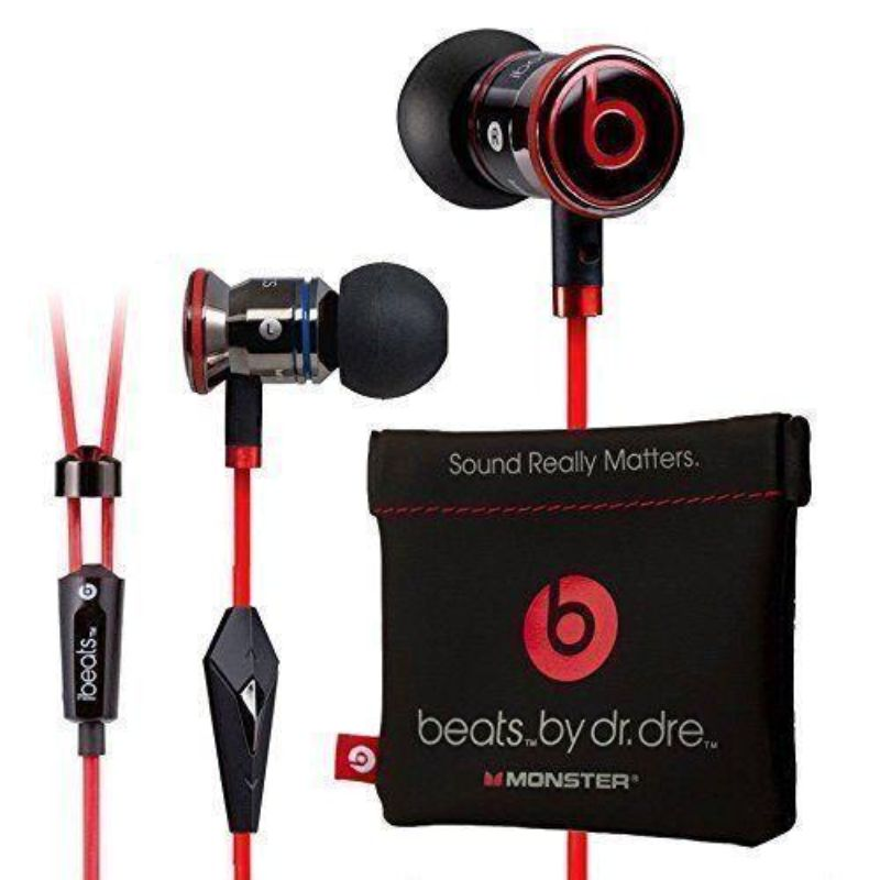 Monster Beats by Dr Dre iBeats Headphones with ControlTalk-Black-Daily Steals
