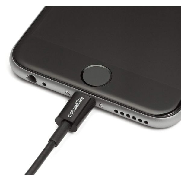 AmazonBasics Lightning to USB A Cable - MFi Certified iPhone Charger-Daily Steals