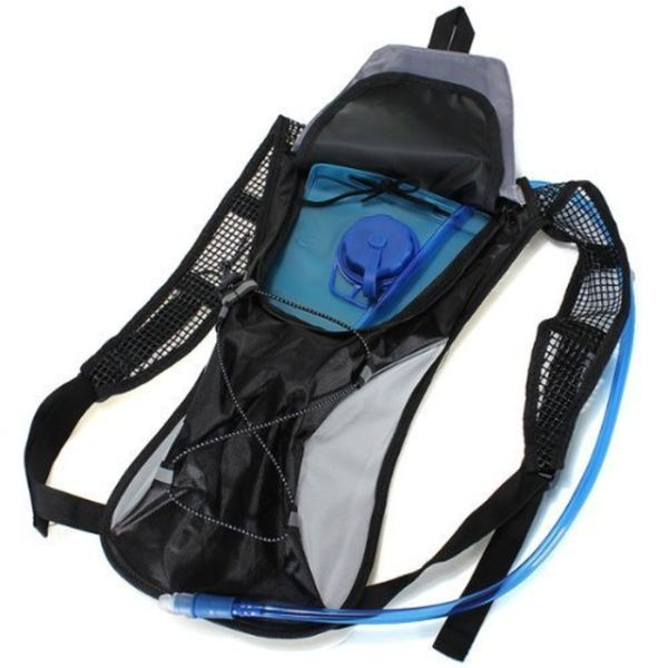 2-Liter Multifunction Portable Hydration Backpack-Black-Daily Steals