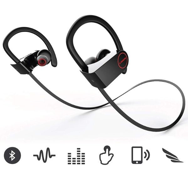 Liger BLAZE Bluetooth 4.1 Sweatproof Earbuds with Noise Cancelling and Mic-Daily Steals
