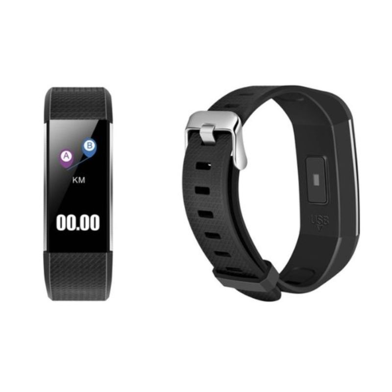 Fitness Activity Watch with Heart Rate, Blood Pressure, and Sleep Monitor-Daily Steals