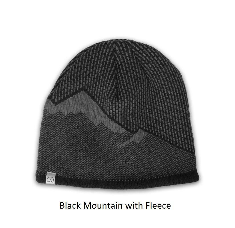 Polar Extreme Thermal Insulated Stocking Beanie Cap-Black Mountain with Fleece-Daily Steals