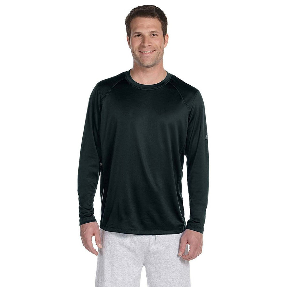 Daily Steals-New Balance Men's Long Sleeve Performance T-Shirt-Men's Apparel-BLACK-2X-