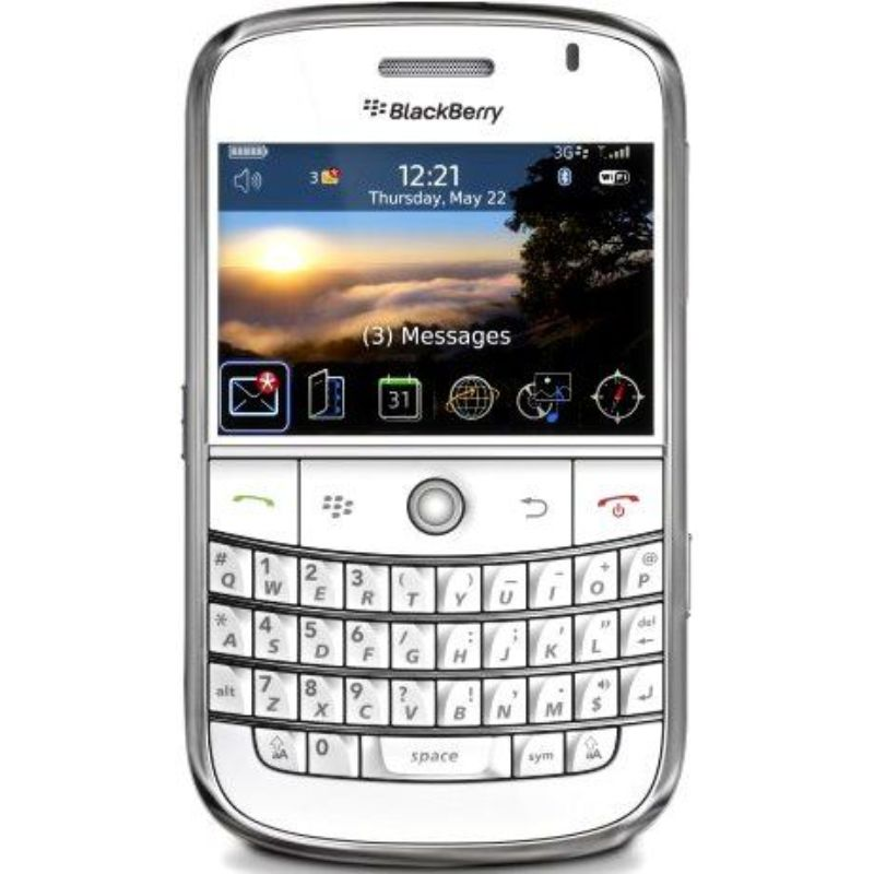 BlackBerry Bold 9000 GSM Unlocked Phone-White-Daily Steals
