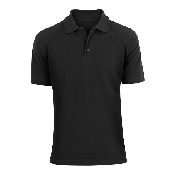Men's Fashion Classic Fit Cotton Polo Shirt - Multiple Colors-Black-L-Daily Steals