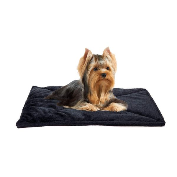 FurHaven ThermaNAP Self Warming Heating Pet Mat-Black-Daily Steals
