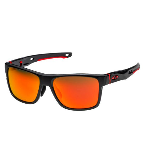 update alt-text with template Daily Steals-Oakley Crossrange Sunglasses Black Prizm Ruby 9371-0857 Cross Asian 9371-08-Accessories-