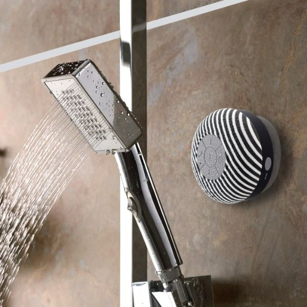 Liger Water-Resistant Bluetooth Shower Speaker - 2 Pack-Daily Steals