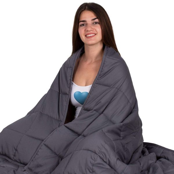 Snuggle 15 Pound Weighted Blanket-Daily Steals