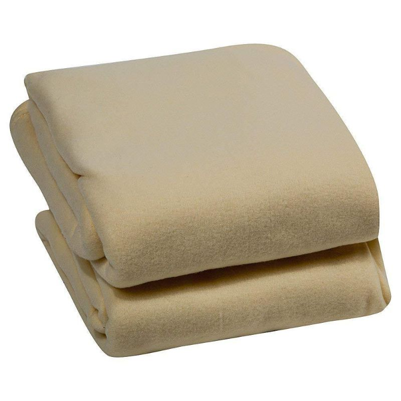 Luxury Home Micro Plush Fleece Blanket-Cream-Twin-Daily Steals