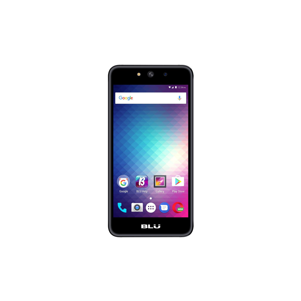 Daily Steals-BLU Grand M G070Q Unlocked GSM Quad-Core Dual-SIM Phone - Black (Certified Refurbished)-Cellphones (refurbished)-