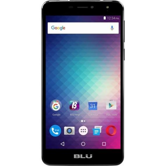 Daily Steals-BLU Studio XL2 S0270UU 16GB Unlocked GSM 4G LTE Quad-Core Phone w/ 13MP Camera - Black (Certified Refurbished)-Cellphones (refurbished)-