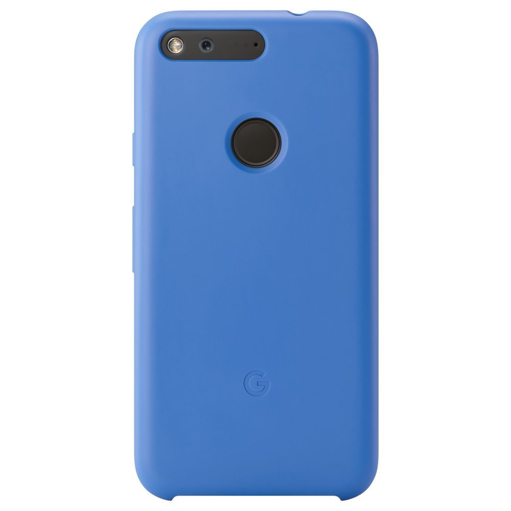 Google Pixel Case by Google with Three Protective Materials-Blue-Daily Steals